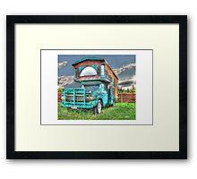 Classic RV Framed Print