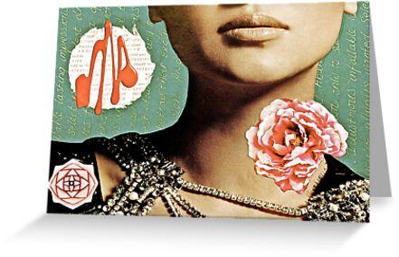 French Antique Fleur by Vikki-Rae Burns