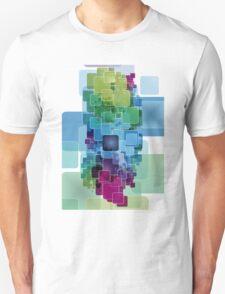 Cool digital block design graphic tee T-Shirt