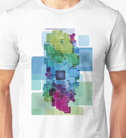 Cool digital block design graphic tee Unisex T-Shirt
