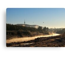 Mist on the Molonglo Canvas Print