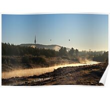 Mist on the Molonglo Poster