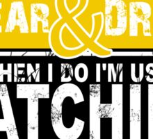 I Don't Always Scream.But When I Do I'M Actually Watching Steelers Football. Sticker