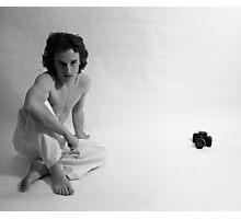 Edward Acker Portrait with Nikon Photographic Print