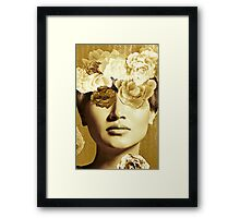 Golden Ipenema Framed Print