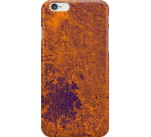 Flower - Orange/Purple iPhone Case/Skin