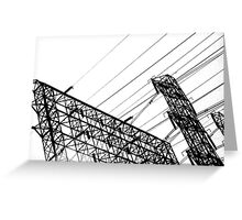 High Wire Act 2 Greeting Card