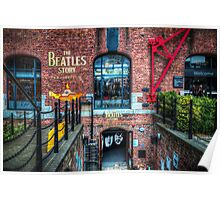 The Beatles Story Poster