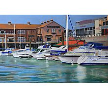 West Quay, Brighton Marina Photographic Print