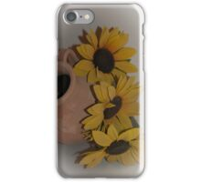 Sunflowers in Cortona, Tuscany, Italy iPhone Case/Skin