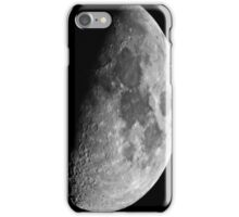 The moon and its seas iPhone Case/Skin