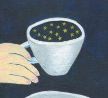 Star coffee Sticker