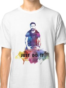 Just Do It Shia Labeouf Colourful Classic T-Shirt