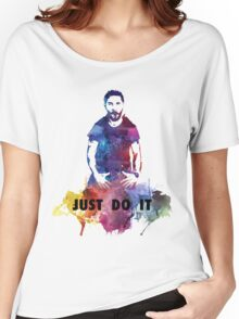 Just Do It Shia Labeouf Colourful Women's Relaxed Fit T-Shirt
