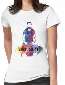 Just Do It Shia Labeouf Colourful Womens Fitted T-Shirt