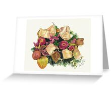 Pomegranates and Berries Greeting Card
