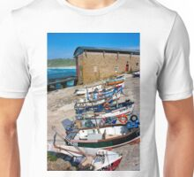 Sennen Cove Fishing Fleet Unisex T-Shirt