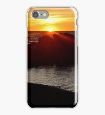 Sunset Over the Northumberland iPhone Case/Skin