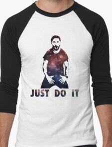 Just Do It Shia Labeouf Galaxy Men's Baseball ¾ T-Shirt