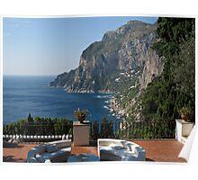 Island Capri - A Nice Terrace View Poster
