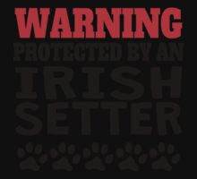 Protected By An Irish Setter One Piece - Short Sleeve