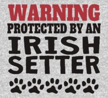 Protected By An Irish Setter One Piece - Long Sleeve