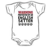 Protected By An English Setter One Piece - Short Sleeve