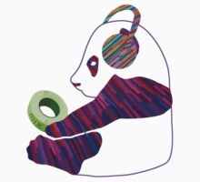 Panda mix Baby Tee