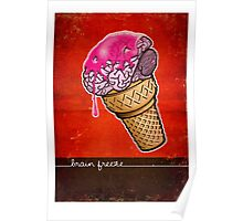 Brain Freeze! Poster