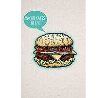 Epic Burger! Photographic Print