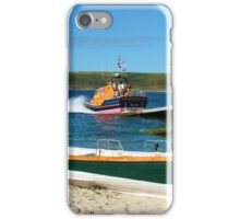 Sennen Cove Lifeboat and Pilot Gigs iPhone Case/Skin