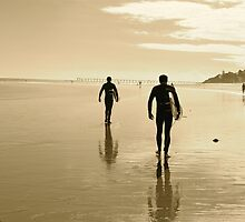 Surfers by Ali Brown