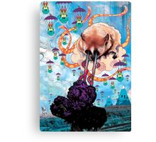 Attack of the Super Furry Animals Canvas Print