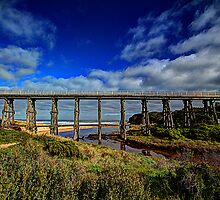 Old Kilcunda railbridge by collpics