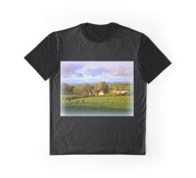 Sheep in the Field Graphic T-Shirt