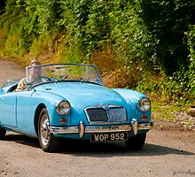 1958 MGA by David J Knight
