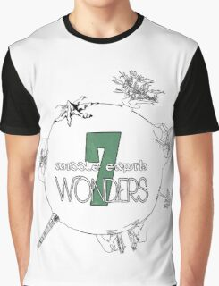 The 7 Wonders of Middle Earth Graphic T-Shirt