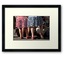 Ready For The Parade Framed Print