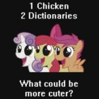 1 Chicken 2 Dictionaries by James Scott