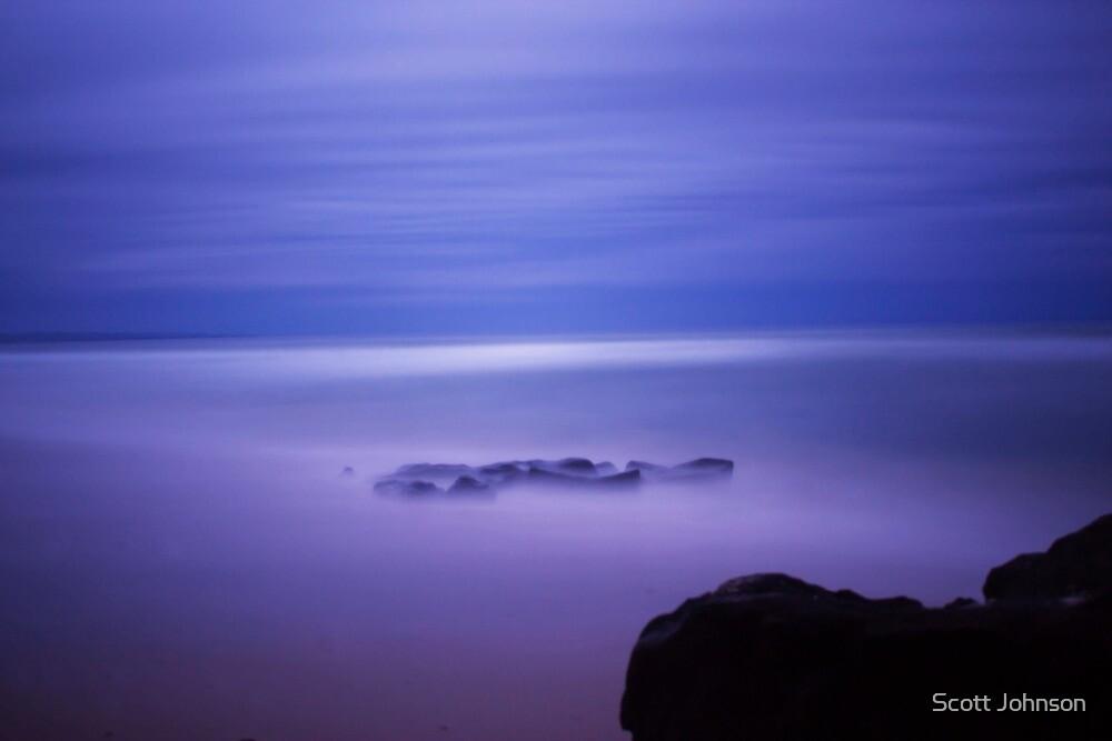 Midnight Surf  by Scott Johnson