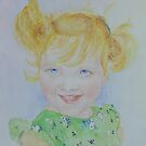 Cheeky little miss by Beatrice Cloake