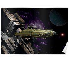Space Battle Cruiser  Poster