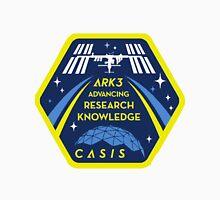 CASIS ARK-3 Mission Logo Women's Fitted V-Neck T-Shirt