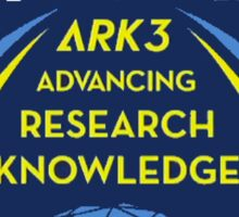 CASIS ARK-3 Mission Logo Sticker