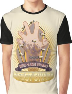 Insect Swarm Plasmid Graphic T-Shirt