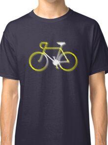 Lightweight White Yellow Velo Classic T-Shirt