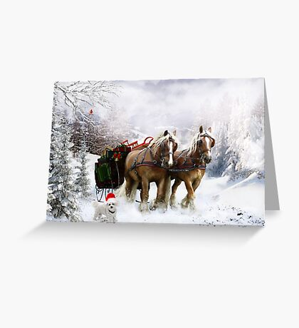 A Christmas Wish Greeting Card