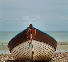Beached Boat by Yampimon