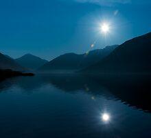 Blue Lake by Svetlana Sewell