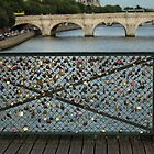 Pont des Arts in Paris, France by Callie Smith